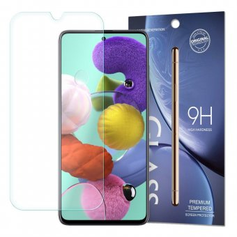 Folie Tempered Glass 9H Screen Protector - Samsung Galaxy Note 10 Lite /Galaxy A71-Clear