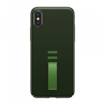 Husa Baseus Little Tail- iPhone XS/ X- Verde