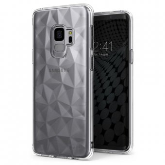 Husa Silicon Ringke Air Prism- Galaxy S9-Transparent