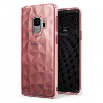 Husa Silicon Ringke Air Prism- Galaxy S9- Roz