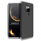 Husa 360 Protection Hard Case- Huawei Mate 20 -Negru-Silver