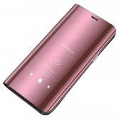 Husa Clear View Case- Huawei Y6 2019 / Y6 Pro 2019-Pink