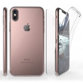 Husa Silicon 360*-Iphone XS Max-Clear